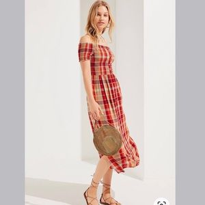 UO Urban Outfitters Monica Off the Shoulder Dress